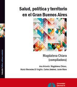 Salud, política y territorio en el Gran Buenos Aires